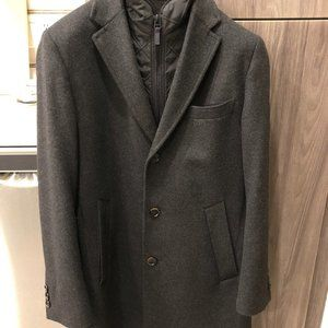 Hugo Boss Cashmere-Wool Overcoat (Size 38)